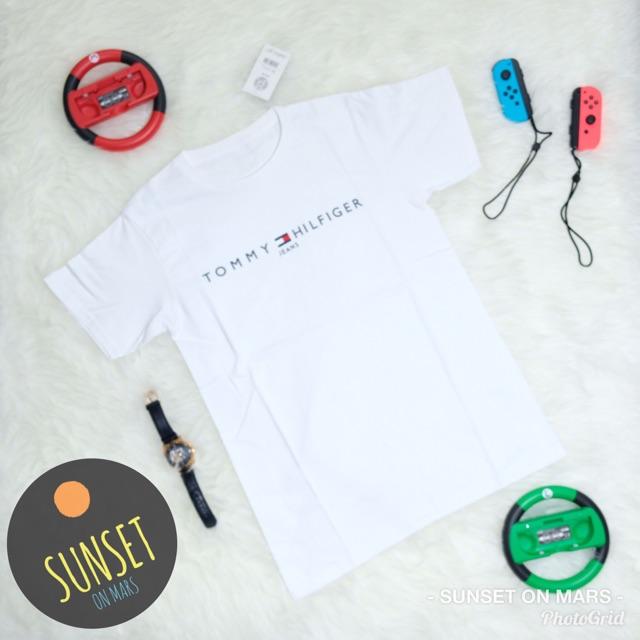 9ebddf03 Kaos Tommy Hilfiger Murah | Baju Tommy Hilfiger Murah | Tumblr tee Tommy  Hilfiger Murah | Kaos Brand | Shopee Indonesia
