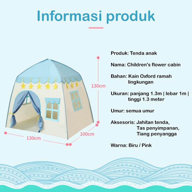 Tenda Anak Bunga Flower House Jumbo Tent Kids Tenda Bermain | Shopee  Indonesia
