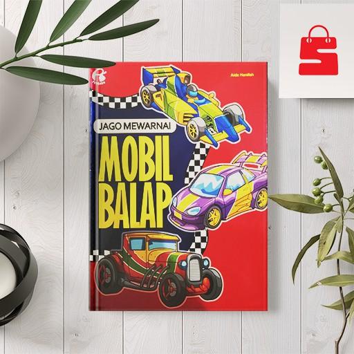 Buku Mewarnai Anak Jago Mewarnai Mobil Balap Shopee Indonesia