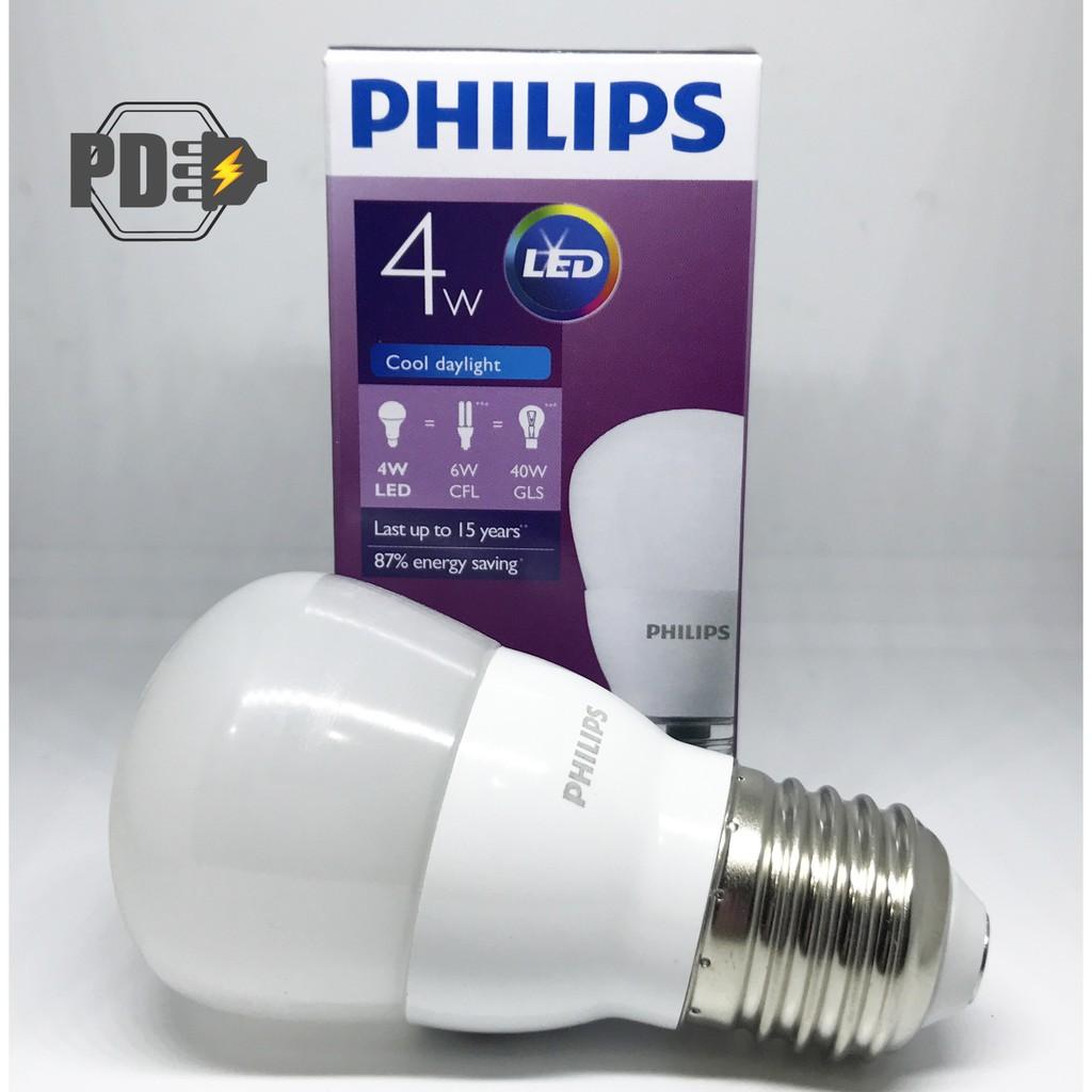 Lampu Led Philips 8 Watt Putih Shopee Indonesia Bohlam Bulb 4 W 4w 4watt Paket Kelipatan 12 Pcs
