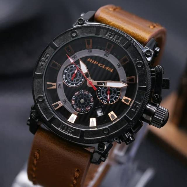 Jam Tangan Pria / Cowok Hublot 09 Leather Black Angka Rosegold | Shopee Indonesia