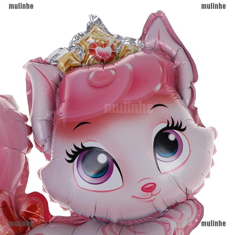 37*37cm Mini Cat princess Balloon birthday party  wedding decoration gifts ST