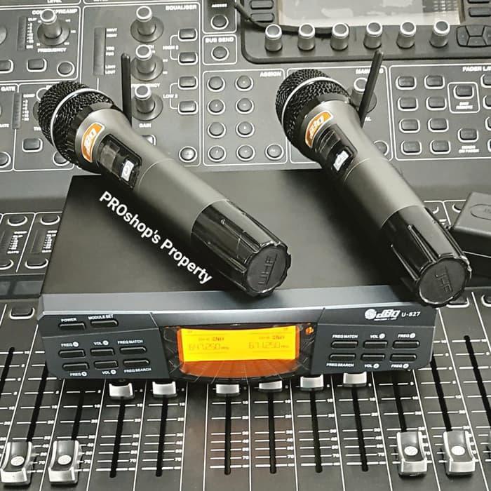 [Microphone] WIRELESS MIC DBQ U827 bagus/murah/berkualitas