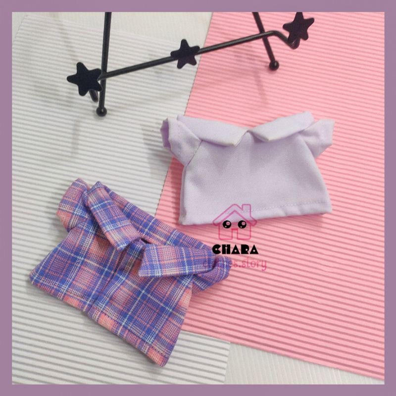 Kpop Doll clothes custom kemeja 15cm 20cm