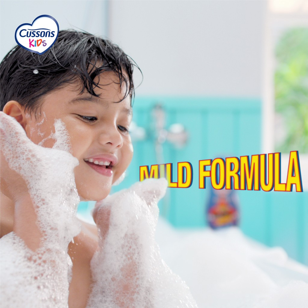 Cussons Kids Shampoo Hot Wheels Fresh & Nourish 200ml-5