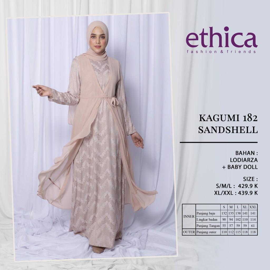 Hb Gamis Ethica Terbaru 2020 Kagumi 182 Sandshell Ethica Original Gamis Pesta Shopee Indonesia