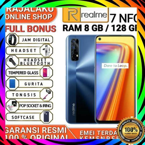 Realme Realme 7 7I Nfc Ram 8 Rom 128Gb Garansi Resmi Realme