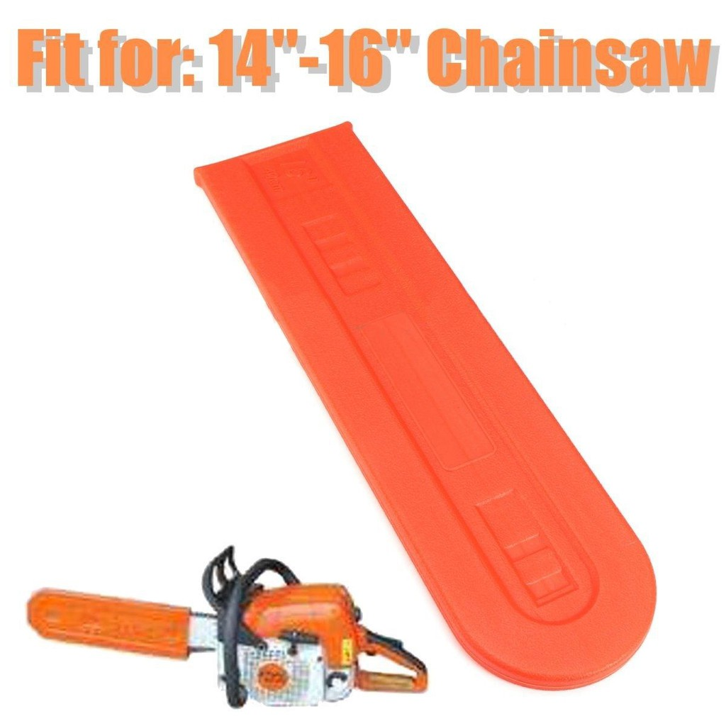 14/'/' 16/'/' Universal Chainsaw Bar Cover Scabbard Protector Guide Plate Plastic