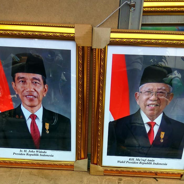Foto Gambar Presiden Dan Wakil Presiden Periode 2019 2024 Shopee Indonesia