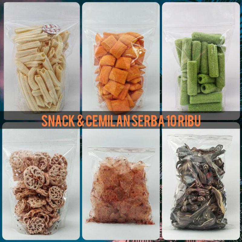 Snack & Cemilan SERBA 10 RIBU