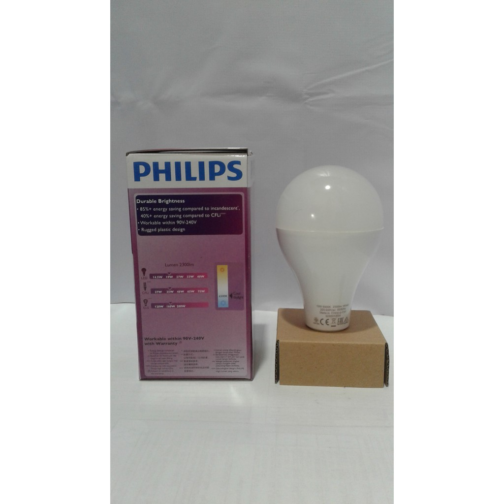 Promo Lampu Led Philips 19 Watt 19w Philip Putih W Bulb 13 Bohlam 13w 13watt Paket  3 Gratis 1 19watt Shopee Indonesia