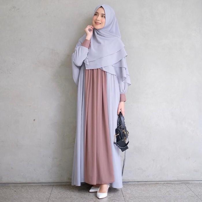 Baju Gamis Terbaru 2020 Gamis Wanita Maxi Wanita Maxy Cewek Edisi Ramadhan Termurah Baju Gamis 55cdn Shopee Indonesia
