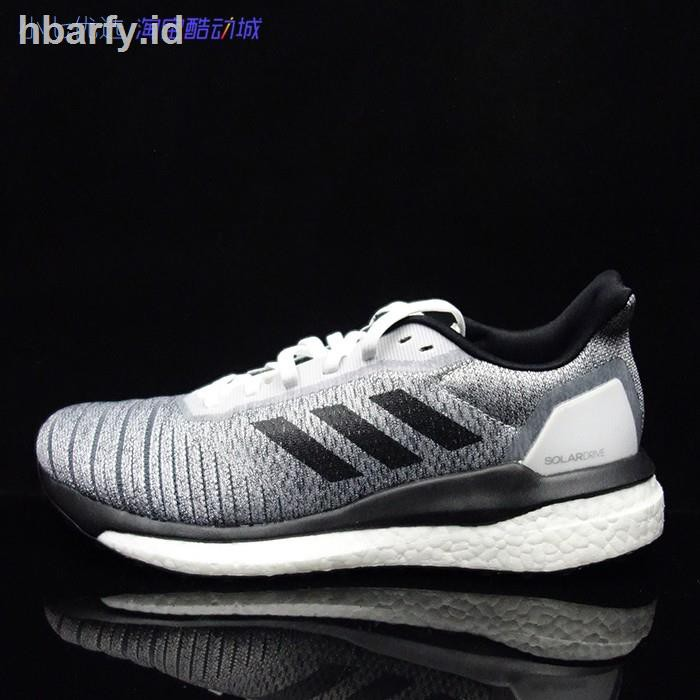 Senatore Bowling Perciò  ✎❐Small seven Adidas Solar Drive 19 M male damping breathable running shoes  D97441 D97442   Shopee Indonesia