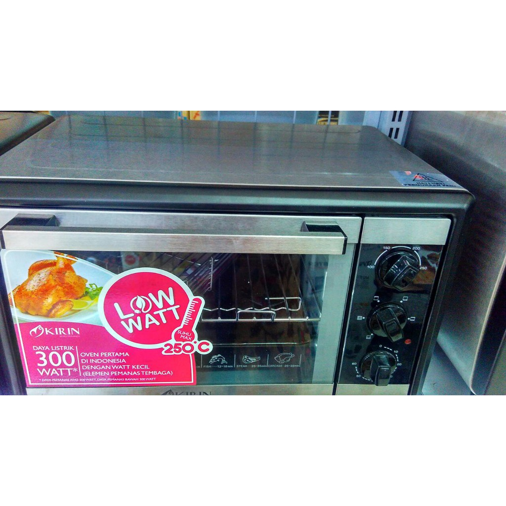 Kirin Oven Electrik 20 Liter Kbo 200 Ra Temurah Surabaya Shopee Elektrik Kbo190raw 19 L Indonesia