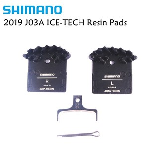 Shimano J02A Disc Brake Resin Pad w//Fin for M9000 M9020 M8000 M785 M7000 as F01A