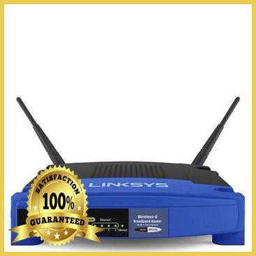 WRT54GL Linksys Wireless-G Router 54Mbps (DDWRT-Support) | Router | Networking