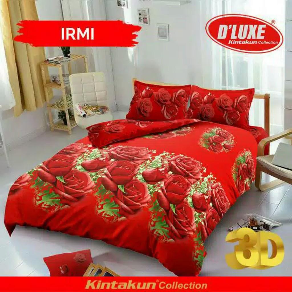 Ww Sprei Kintakun Dluxe Rumbai 180 Logan 180x200 King Size No 1 Uk Deluxe Minimalis Shopee Indonesia