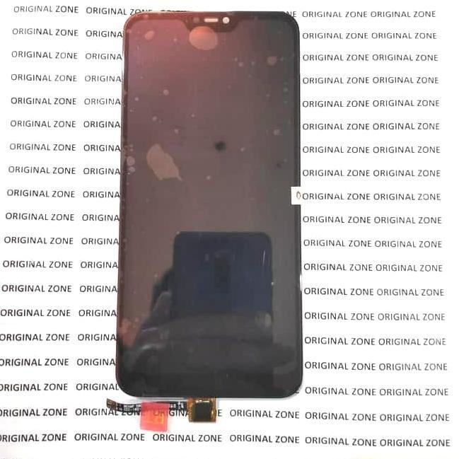 [BigSale]!!qdw-877  Lcd xiaomi Mi A2 lite ORIGINAL lcd xiaomi MiA2 lite full touchscreen - Hitam