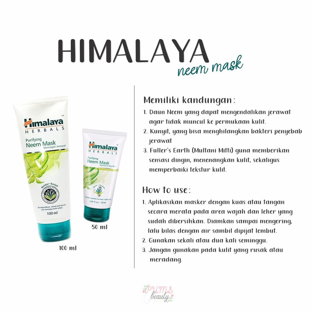 Himalaya Purifying Neem Mask Scrub Shopee Indonesia