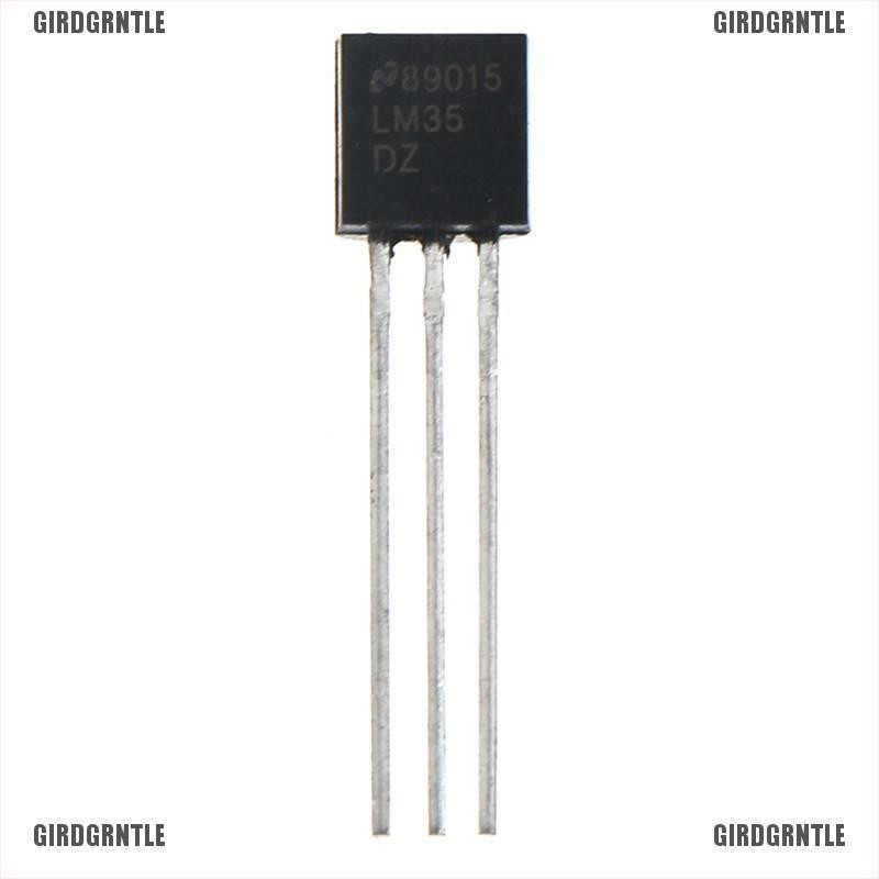 10pcs LM35DZ LM35 TO-92 nsc temperature sensor ic inductor/'