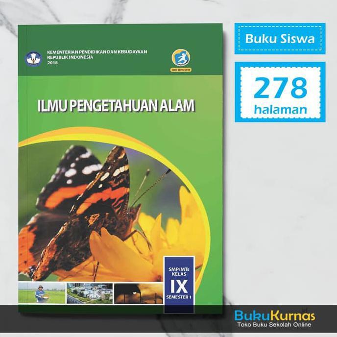 Buku Ipa Smp Kelas 9 Semester 1 K13 Revisi 2018 Shopee Indonesia