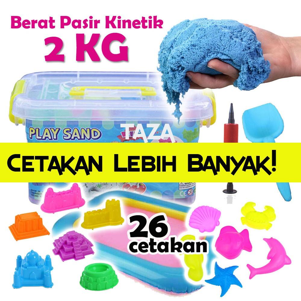 [BAYAR DI TEMPAT] JUMBO 2kg PASIR KINETIK / Pasir Ajaib SNI   Shopee Indonesia