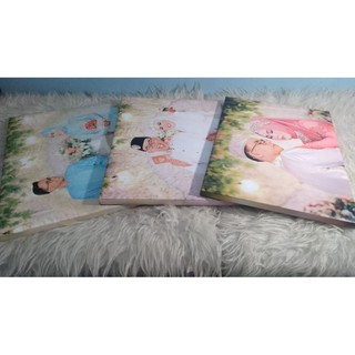 bingkai foto unik + cetak foto 12r sidekor (hiasan dinding
