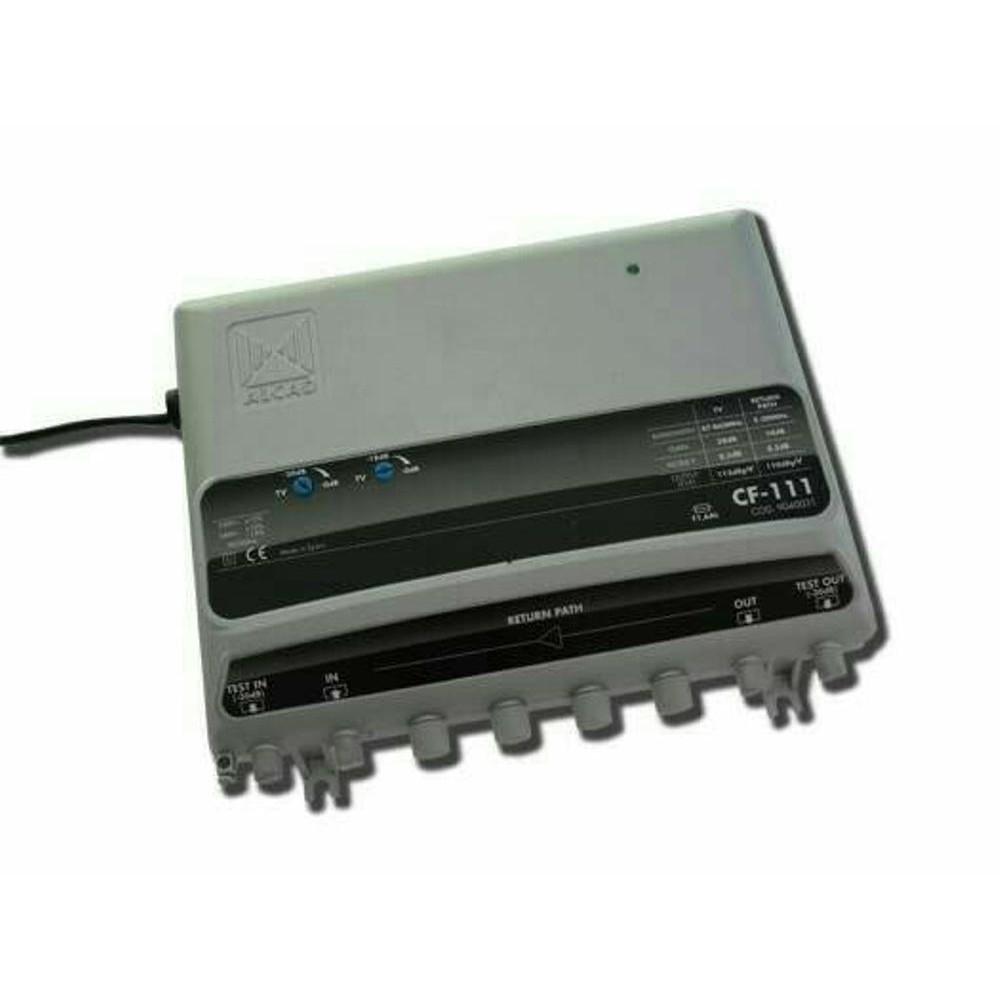 Dijual Penguat Sinyal TV CATV booster Indoor dengan Splitter 4 output Berkualitas | Shopee Indonesia