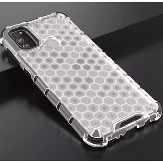Case Samsung M11 M21 A11 Clear Honey Comb Casing Cover ...