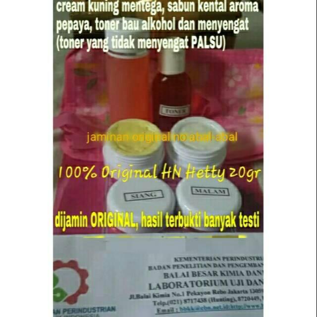 Paket lengkap cream Temulawak original Malaysia (cream siang+malam+serum +toner+