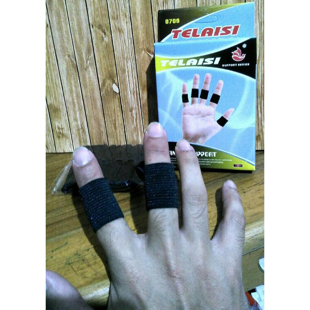 Finger Jari Save Pelindung Nike Bahan Nylon Murah Deker Support 0709 Shopee Indonesia