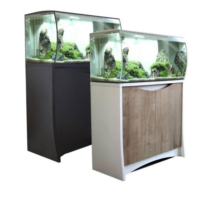 Meja Kabinet Aquarium Cabinet Aquascape Minimalis Bandung Betterhopes Shopee Indonesia