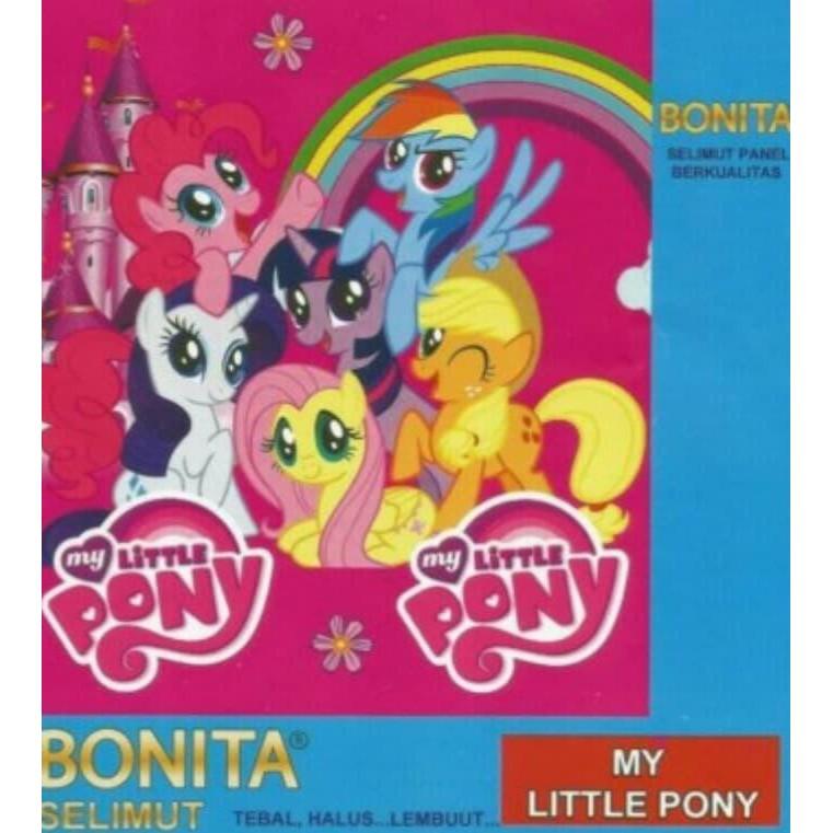Selimut Bonita 3d My Little Pony Blanket Kuda Poni Rainbow Pink Dash Shopee Indonesia