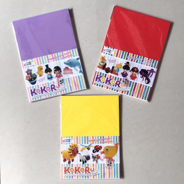 Kokoru A4 Hachi Hachigo Hachiro Corrugated Paper Shopee Indonesia