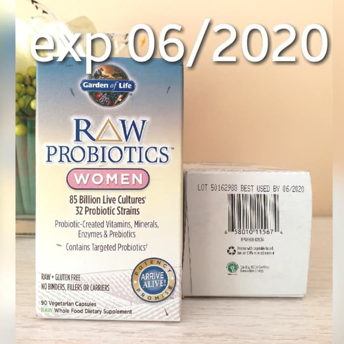 Ready Garden Of Life Raw Probiotics Probiotik Women 90 Veggie Caps By S Shopee Indonesia