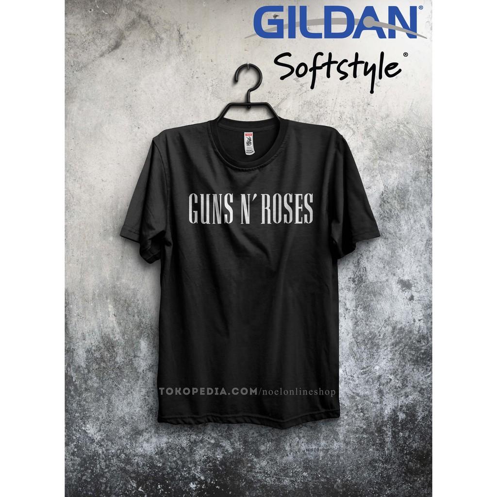 Kaos Band Guns N Roses GNR Tour Jakarta 2018 Musik Rock DTG Tshirt KaosanWae | Shopee Indonesia