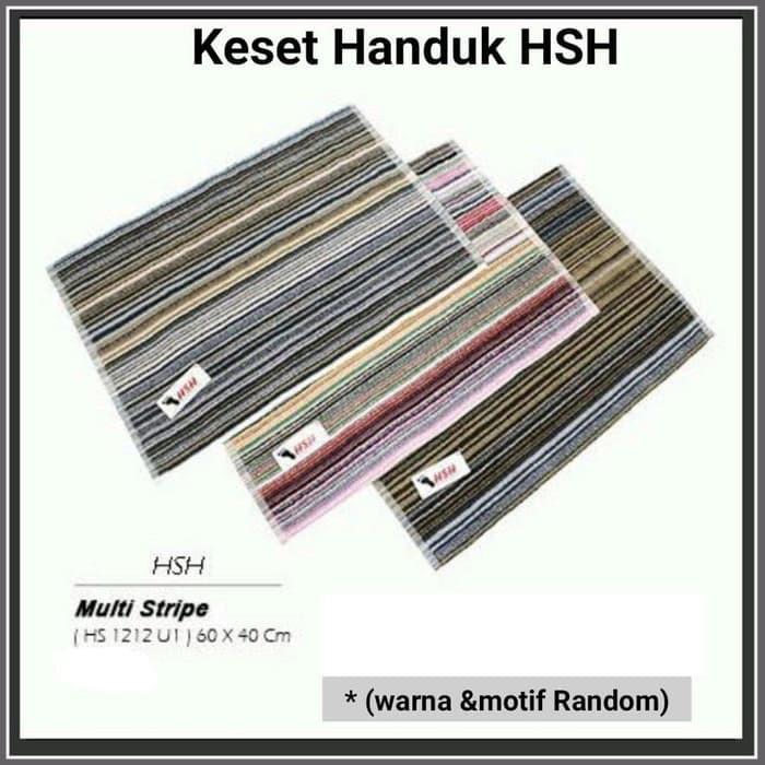 Keset Handuk HSH by Terry Palmer 40 x 60 cm - random motif & colour bathmat Home Sweet Home | Shopee Indonesia