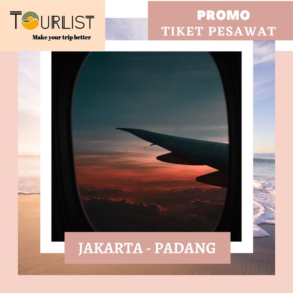 Promo Batik Air Tiket Pesawat Jakarta Padang Shopee Indonesia