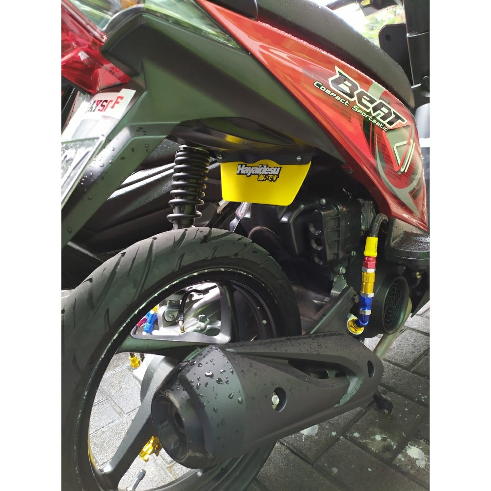 Mud Flap Motor Honda Beat Karbu Mud Flap Beat Original Aksesoris Variasi Modifikasi Honda Beat Shopee Indonesia