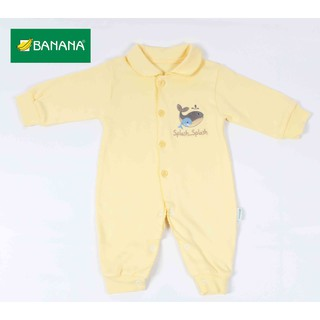 BANANA Jumper Bayi Panjang Splash (Buka Kaki) | Shopee ...