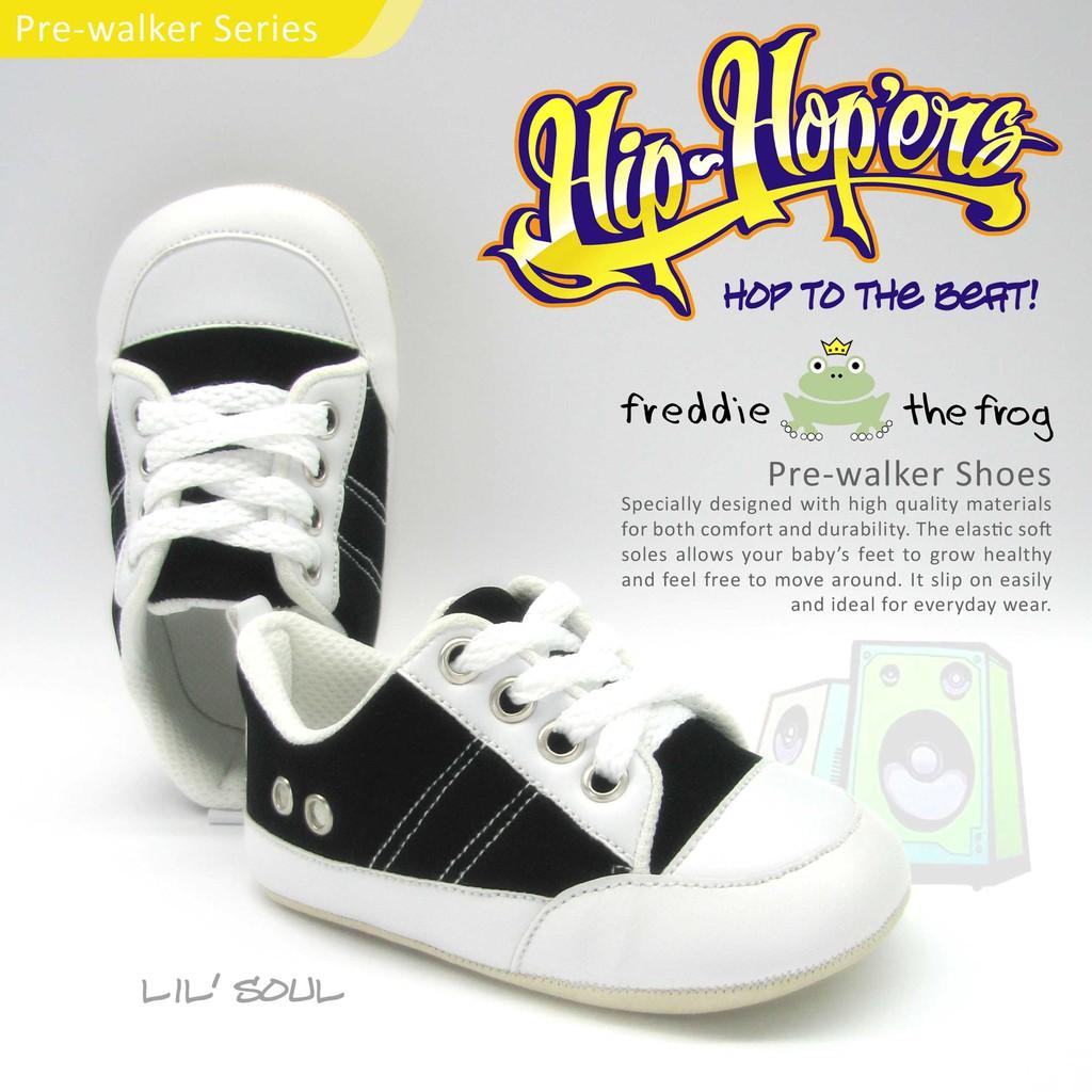Sepatu Bayi Prewalker Baby Shoes Freddie The Frog Big Sage Kani Moccs Shopee Indonesia