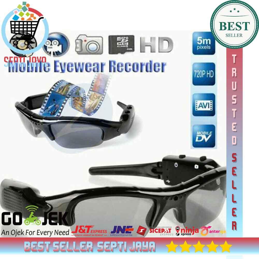Kacamata Hitam Kamera Hidden Camera Video Foto Recording Cam Unik Tersembunyi Spy Cam Eye Glass Ori Shopee Indonesia