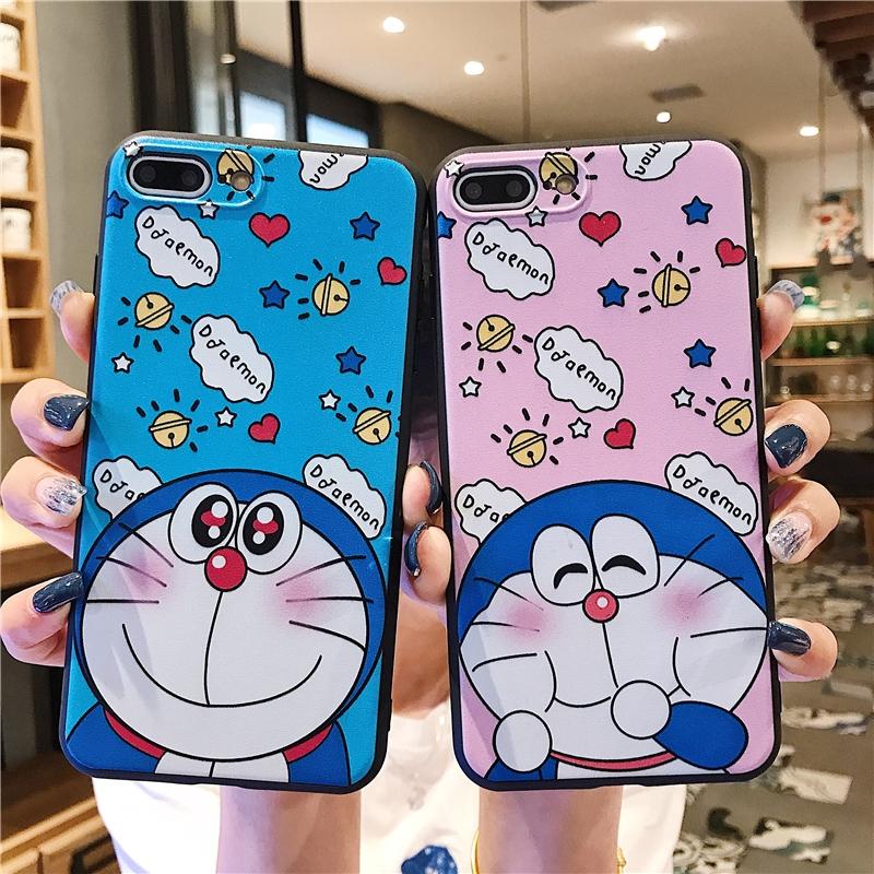 Soft Case Silikon Motif Lukisan Doraemon 3d Untuk Vivo Y71 V5 V7