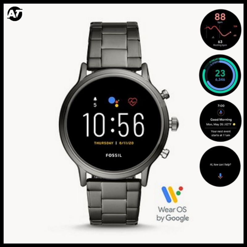 Smartwatch Fossil Pria - Fossil Smartwatch Gen 5 FTW4024 ORIGINAL Garansi Resmi