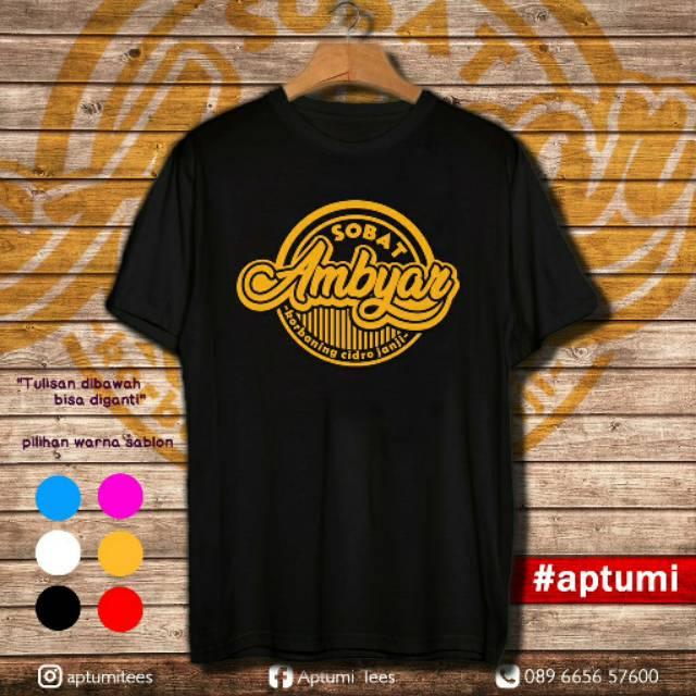 Kaos T Shirt Premium Didi Kempot Sobat Ambyar Shopee Indonesia