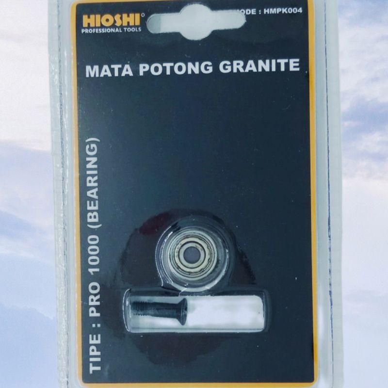 Mata pisau potong granit keramik roda bearing/part pisau alat potong granit keramik dorong manual