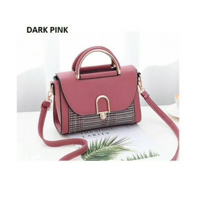 Tas Kondangan Pesta Shoulder Bag Bisa Selempang Untuk Dewasa Dan Remaja Dark  Pink  0d3a8839bf