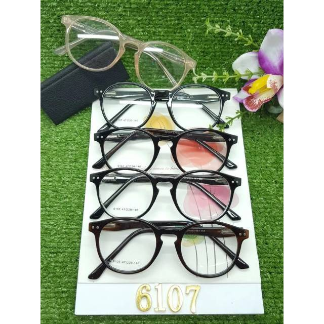 Frame kacamata square lentur 2135 + lensa minus plus silinder grosir  kacamata bogor fashion trendi  689d601c9d