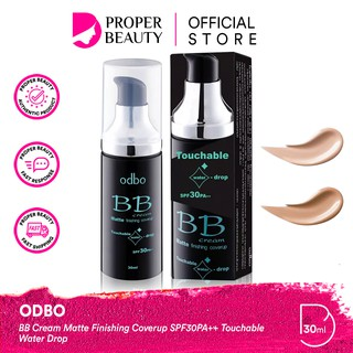 ODBO BB Cream Matte Finishing Coverup SPF30PA++ Touchable Water Drop OD425 Thailand Foundation CC thumbnail