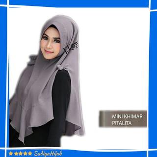 Jilbab Instan Kerudung Belah Samping Mini Khimar Pet Pitalita Hijab Instant Pita | Shopee Indonesia